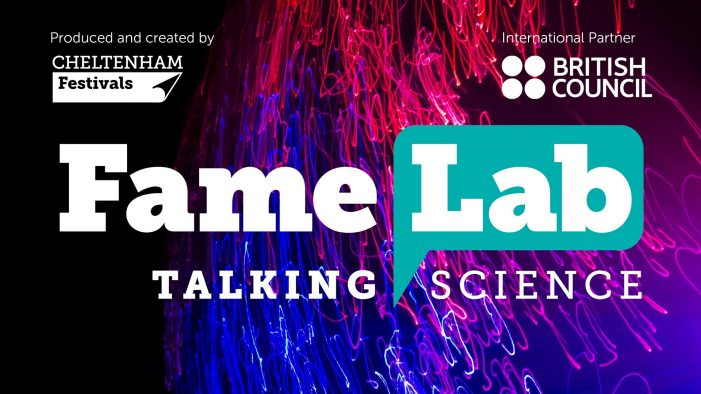 "Atelier FameLab: ""Public Speaking in Science"""
