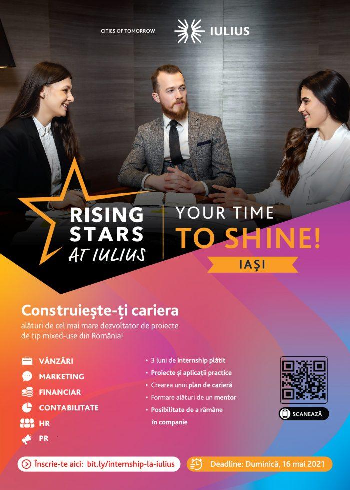 """Programul de dezvoltare profesională """"Rising Stars at IULIUS"""""""