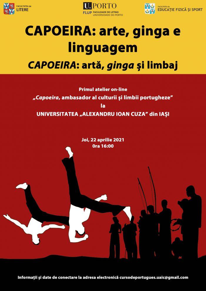 """Ateliere cu tema """"CAPOEIRA: artă, ginga și limbaj"""""""