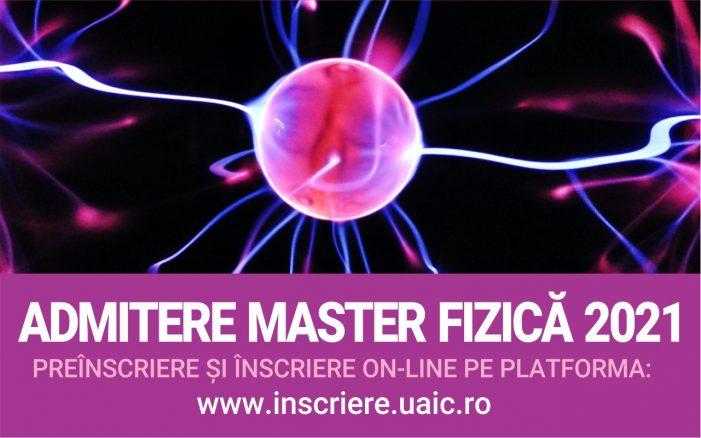 Facultatea de Fizică organizează evenimentul de prezentare a noului programul de master – Fizică Medicală Aplicată
