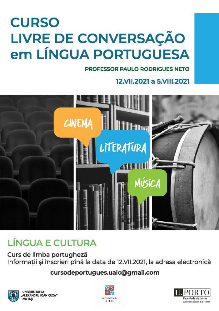 Curs de conversație în limba portugheză: cinema, literatură și muzică