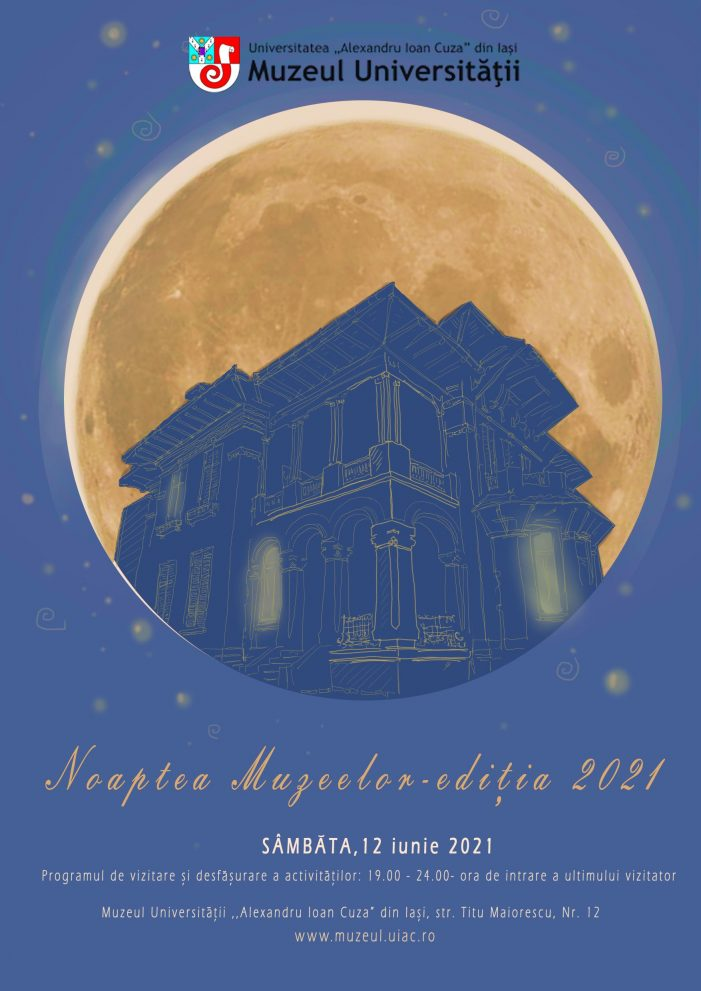 Noaptea Muzeelor la UAIC, ediția 2021