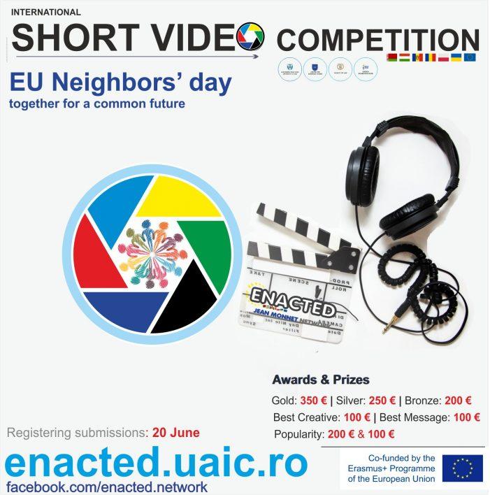 Competiție inedită de scurte videoclipuri organizată de Centrul de Studii Europene al UAIC