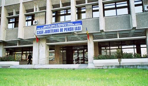 Casa Județeană de Pensii Iași scoate la concurs posturi pe perioada determinată