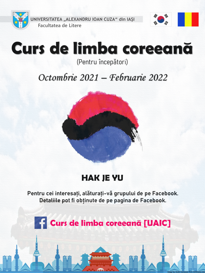 Curs online de limbă coreeană la UAIC